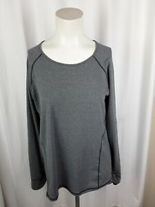 Cuddl Cuds Sport Layer Women`s Long Sleeved Shirt Size Large Fitted