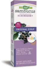 Kid's Sambucus Black Elderberry Propolis Cough Syrup 240ml Soothing Sore Throat