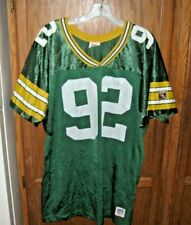REGGIE WHITE GREEN BAY PACKERS WILSON THROWBACK Jersey NFL Vtg Jersey Mens sz M