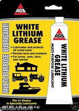 AGS Grease White Lithium 1.25 oz. Tube
