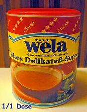 Wela-Klare Delikateß-Suppe Classic Paste gluten+lactosefrei Dose1/1 für 62,5 L