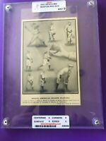 1911 Reach Vintage T-206 Era Slabbed/Graded Mint 9 Hooper Red Sox HOF