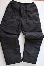Mens White Sierra ski pants Black Sz XL snowboard snow hiking snowmobile EUC