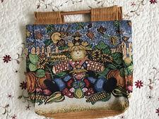 Handmade Tote Bag For Books / Crochet / Knitting