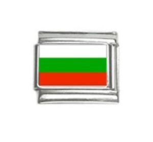Italian Charms Charm Flags Bulgaria Bulgarian Flag