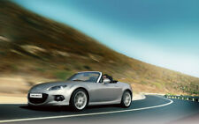 """MX5 MAZDA ROADSTER SPEED A3 CANVAS PRINT POSTER FRAMED 16.5""""x11.1"""""""