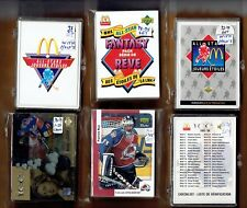 1991-92,92-93,93-94,97-98,98-99,99-00,00-01,01-02,02-03  McDonald sets   Gretzky