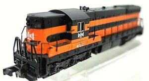 N Life-Like 7711 Bessemer & Lake Erie RR EMD SD7 Locomotive #452 (Tested)