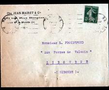 """PARIS (IX°) SCIES VICKING """"Jean MAIRET"""" Voyagée en 1920"""