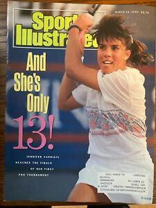 Sports Illustrated March 19, 1990 - Jennifer Capriati