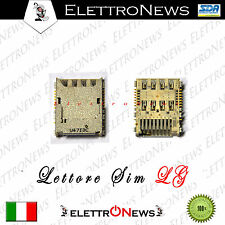 Lettore Sim Sd Lg G4 H815 H818 G4S H735 G4s Dual H736 G4 Stylus H365