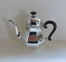 Englische ʻBachelor' Sterlingsilber Teekanne / Kaffeekanne, Birmingham 1919