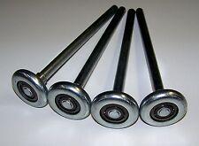 """Garage Door Roller Wheel LONG STEM 2"""" X 7"""" Stem STEEL"""