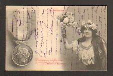 """LES DECORATIONS """"MEDAILLE de SAUVETAGE"""" par BERGERET avant 1904"""