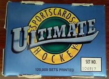 1991 Ultimate Sportscards Hockey Complete Boxed Set - AMERICAN EDITION