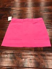 Kate Spade Saturday Hot Pink Mini Skirt, Size 2