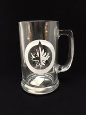 Winnipeg Jets Glass Sport Mug
