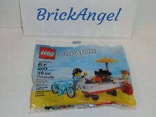 NEW LEGO 40078 Creator Hot Dog Stand Factory Sealed Polybag 2013
