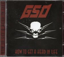 GSO - How To Get A Head In Life (2004 CD) GMR Records Sweden