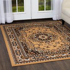 Persian Sand Beige Area Rug 9x12 Large Oriental Carpet 69 Rox 9 2