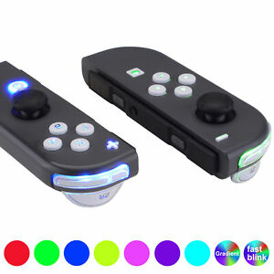 White Luminated Classical DFS LED Kit for Nintendo Switch JoyCon Controller