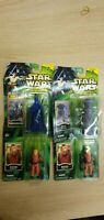 4 BNIB HASBRO STAR WARS POWER OF THE JEDI FIGS INC ZUTTON FX-7 CORUSCANT GUARD