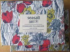 SEASALT Standard Pillowcase Pair BULB MANIA CORAL New