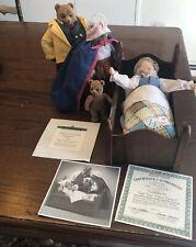 The Ashton Drake Galleries Goldilocks And The Three Bears Certif Authenticity