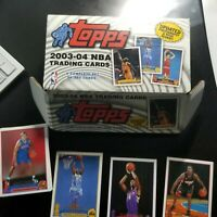 2003-04 Topps Basketball Collection Not Complete Set No LeBron James RC