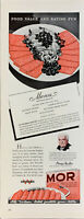 Vintage 1942 Wilson Mor Can Meat Recipe For Meal Board Print Ad Advertisement