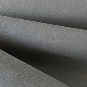Faux Suede Fabric - Grey Thick Strong Microfibre Micro Base Non-Slip Anti-Scuff