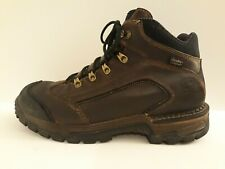 Men's Red Wing Irish Setter Brown Leather Work Boots Size 10.5 Waterproof 83403