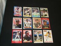 Baseball Cards BARRY BONDS 12 card lot PITTSBURGH PIRATES