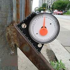 Slope Inclinometer Protractor Angle Finder Tilt Level Meter Clinometer Gauge