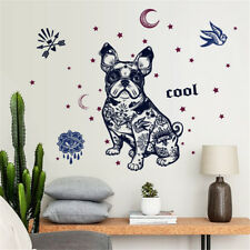 Fashion Drawing Dog Room Home Decor Removable Wall Sticker Decal Decoration
