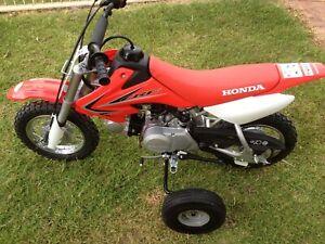 Adjustable Minibike Training wheels Honda CRF QR 50 - CRF 70 - XR 70 Pit bikes
