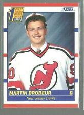 1990-91 Score #439 Martin Brodeur RC (ref 76520)