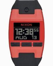NWT Nixon Comp S A336209  Red/ Black Digital Watch Unisex  Silicone
