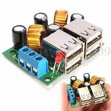 DC 12V 24V 40V a 5V 5A 4,8 3,6 cm Ajustable USB Reductor Potencia Supply Módulo