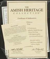 30031 Best Friends Original CoA & Papers | Amish Heritage Collection