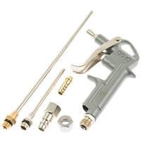 Druckluft Ausblaspistole 5-tlg. 3 Düsen bis 200 mm Druckluftpistole Werkzeug Set
