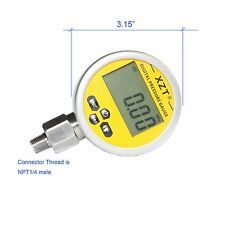 "3.15""/80mm-700BAR/10000PSI(NPT1/4) Digital hydraulic Pressure Gauge--Base Entry"