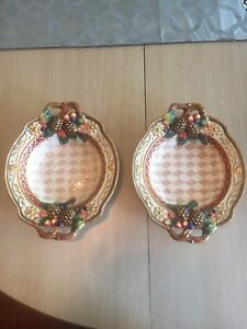2 Fitz and Floyd Potpourri Bowls Small