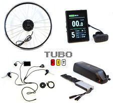 TUBO KIT, Sistema Completo per Conversione in Bici elettrica, Ruota Anteriore 26