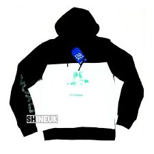 Official PlayStation Gaming Mens Black Hooded Jumper Sweatshirt HOODIE NEW