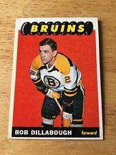 Topps Hockey 1965-66 Bob Dillabough Boston Bruins card #39