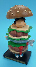 Gaston Lagaffe Homme-Sandwich  Franquin 2004 figurine BD comic