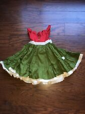 Girls Cristmas Dress From Little Bird Clothing Size 2 New In Bag Never Worn
