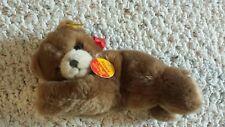 Steiff Floppy Teddy Bear Red Bow All Tags Attached 082108