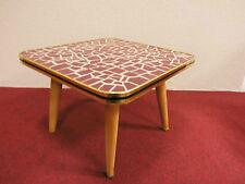 Beistelltisch Tisch Keramik Mosaik mid century design 50s 50er 60s 60er vintage